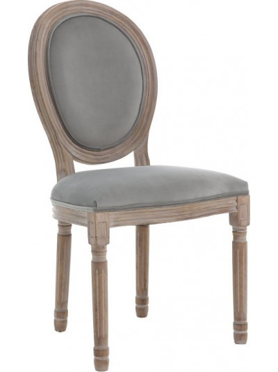 Ξύλινη/Βελούδινη Καρέκλα