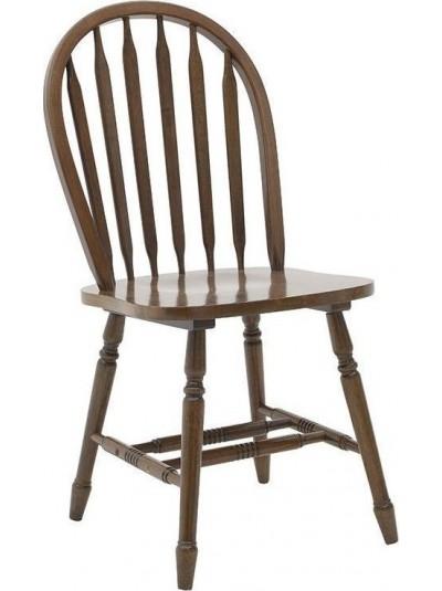 INART Ξύλινη Καρέκλα Τραπεζαρίας Καφέ Κωδικός: 3-50-662-0007 Διαστάσεις: 45Χ45Χ93,5 Εκατοστά