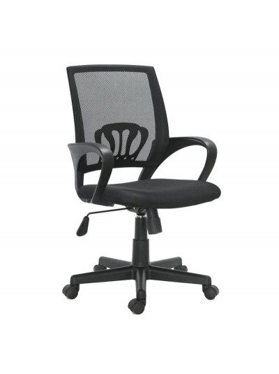 INART Καρέκλα Γραφείου Ανθρακί/Μαύρη Περιστρεφόμενη Κωδικός: 6-50-592-0001 Διαστάσεις: 55Χ56Χ108 Εκατοστά