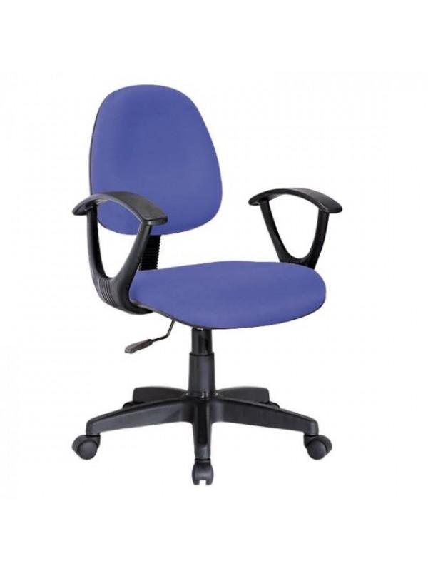 INART Καρέκλα Γραφείου Μπλε Περιστρεφόμενη Κωδικός: 6-50-592-0011 Διαστάσεις: 62Χ54Χ106 Εκατοστά