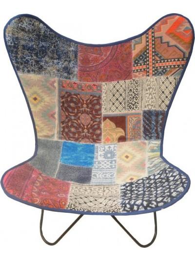 Μεταλλική/Υφασμάτινη Καρέκλα 7-50-122-0023