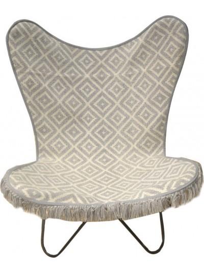 Μεταλλική/Υφασμάτινη Καρέκλα 7-50-122-0024