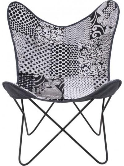 Μεταλλική/Υφασμάτινη Καρέκλα 7-50-122-0027