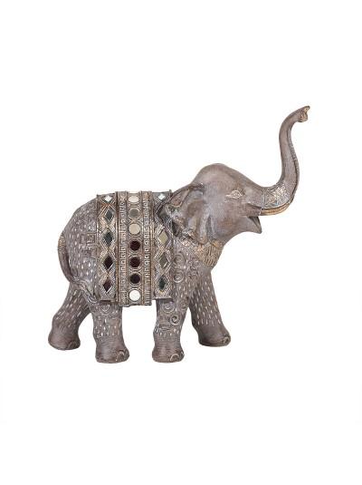 Διακοσμητικός Ελέφαντας Φωτιζόμενος 20Χ8Χ19 Εκατοστά
