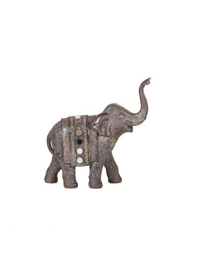 Διακοσμητικός Ελέφαντας Φωτιζόμενος 15x6x15 Εκατοστά
