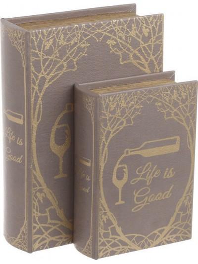 Κουτί/Βιβλίο Σετ Των 2 3-70-106-0032