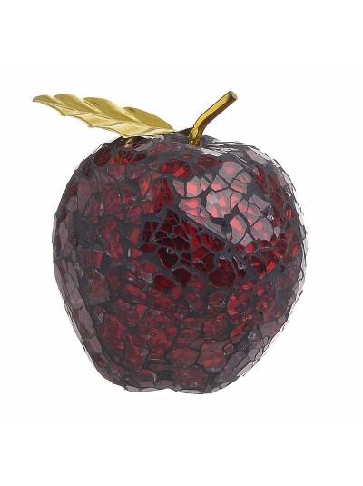 Επιτραπέζιο Διακοσμητικό Mήλο INART Kόκκινο Κωδικός: 3-70-151-0122 Διαστάσεις: 9Χ9Χ10 Εκατοστά