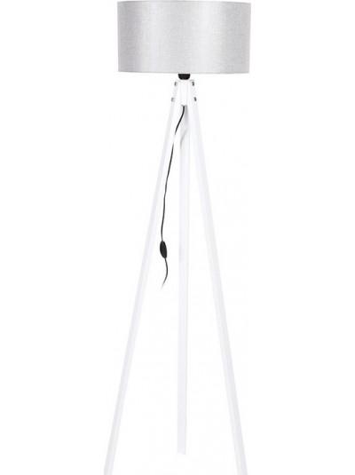 Φωτιστικό Δαπέδου Τρίποδο με Γκρι Καπέλο FYLLIANA Κωδικός: 835-91-087 Διαστάσεις: 40Χ150 Εκατοστά