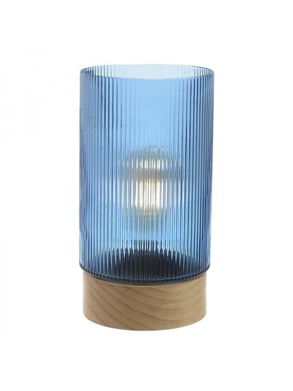 INART Επιτραπέζιο Φωτιστικό Με Μπαταρίες Μπλε Κωδικός: 3-15-104-0051 Διαστάσεις: 14,5Χ28 Εκατοστά