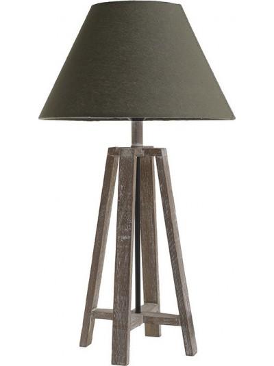 Επιραπέζιο Φωτιστικό INART Ξύλινο Natural/ Γκρι Κωδικός: 3-15-625-0010