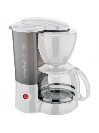Καφετιέρα Φίλτρου Ηλεκτρική TNS Λευκή 800 Watt Κωδικός: 35-950-0735 Χωρητικότητα: 1,2 Λίτρα