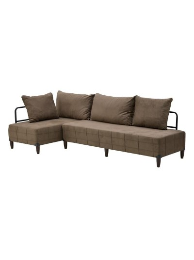 Γωνιακός Καναπές 6-50-749-0001 Διαστάσεις: 260Χ120_70Χ80_40