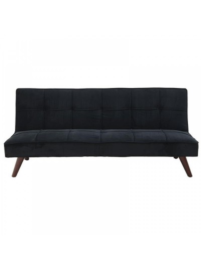 INART Καναπές/Κρεβάτι Μαύρος Βελούδινος (Εύκολος στο Άνοιγμα) Κωδικός: 6-50-878-0002 Διαστάσεις: 175Χ97Χ38 Εκατοστά