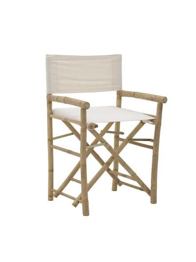 INART Καρέκλα Σκηνοθέτη Μπαμπού Κωδικός: 3-50-236-0003