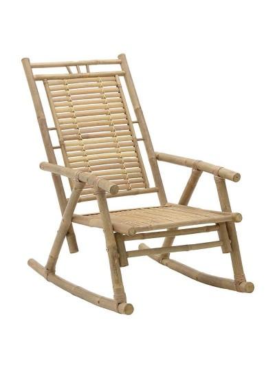 INART Κουνιστή Καρέκλα Μπαμπού Natural Χρώμα Κωδικός: 3-50-236-0016