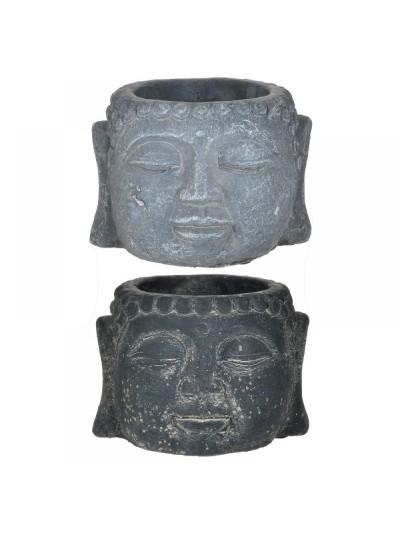 INART Κασπώ Τσιμεντένιο Βούδας 12Χ9εκ. 2 Χρώματα Κωδ: 6-70-508-0058