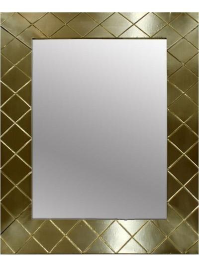 Καθρέπτης Τοίχου Ξύλινος INART Χρυσός Κωδικός: 3-95-380-0001 Διαστάσεις: 60Χ2,5Χ80 Εκατοστά