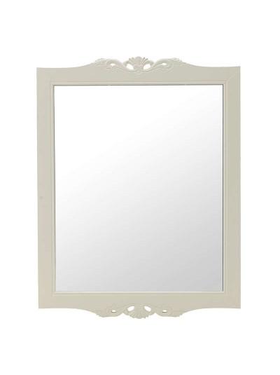 Καθρέπτης Τοίχου Ξύλίνος Λευκός Κωδικός: 3-95-487-0004 Διαστάσεις: 70Χ2Χ90 Εκατοστά