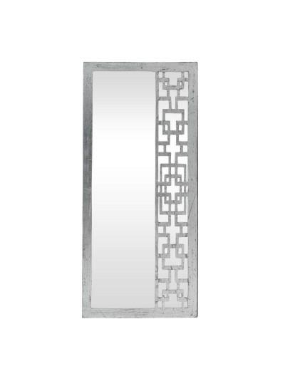 Καθρέπτης Τοίχου ΙΝΑRT Ξύλινος Ασημί Κωδικός: 3-95-536-0018 Διαστάσεις: 45Χ4Χ100 Εκατοστά