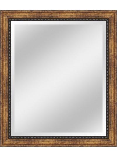 Kαθρέπτης με Πλαίσιο Καφέ ORIANA FERELLI Κωδικός: HO2705050060 Διαστάσεις: 50Χ60 Εκατοστά