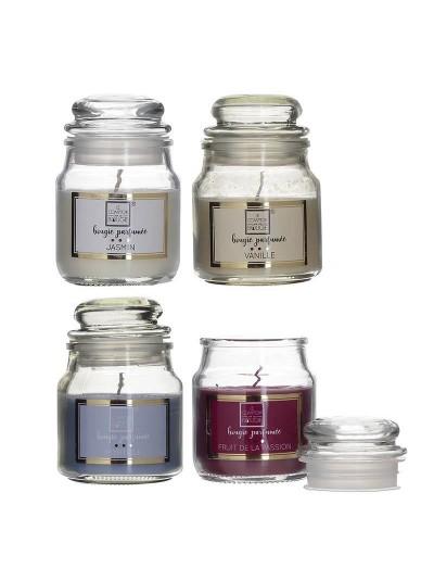 INART Κερί Αρωματικό Παραφίνης Σε Βάζο 4 Αρώματα Κωδικός:  6-80-508-0001 Διαστάσεις: 5,5Χ9 Εκατοστά 6-80-508-0001