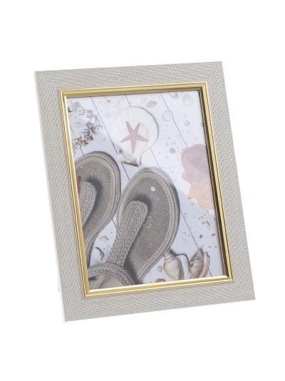 INART Πλαστική Κορνίζα 10Χ15 Μπεζ/Χρυσό Κωδικός: 3-30-058-0205