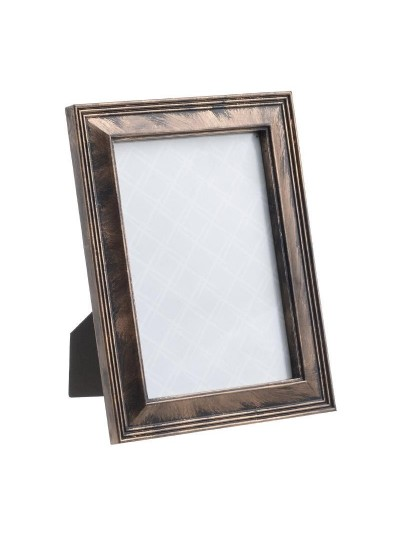INART Πλαστική Κορνίζα 10Χ15 Αντικέ Μπρονζέ Κωδικός: 3-30-452-0004
