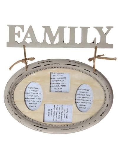 ΚΟΡΝΙΖΑ 55X52 FAMILY ΞΥΛΙΝΗ
