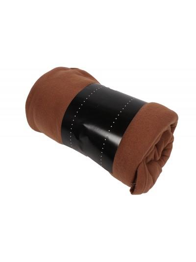 Κουβέρτα Fleece Καφέ Ανοιχτό TNS Κωδικός: 39-950-1537d Διαστάσεις: 1.50X2.20 Εκατοστά