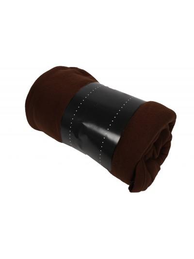 Κουβέρτα Fleece Καφέ Σκούρο TNS Κωδικός: 39-950-1537e Διαστάσεις: 1.50X2.20 Εκατοστά