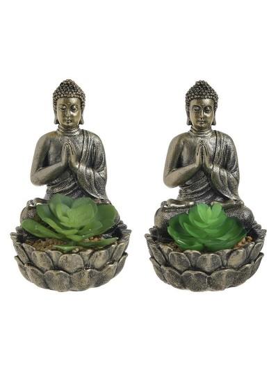 Διακοσμητικό Βούδας Με Φυτό 3-85-475-0237