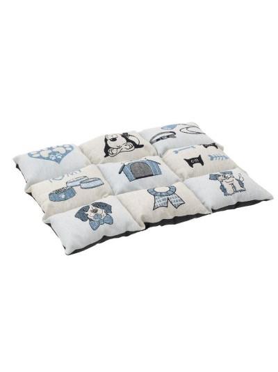 """INART Κρεβάτι/Στρώμα Για Κατοικίδια Υφασμάτινο """"Σκυλάκια"""" Κωδικός: 6-40-163-0006 Διαστάσεις: 55 Εκατοστά"""