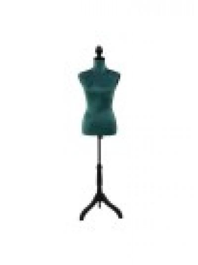 Επιδαπέδιο Μπούστο Βελούδινο Πράσινο INART Κωδικός: 3-70-291-0015 Διαστάσεις: 37,5Χ24Χ168 Εκατοστά