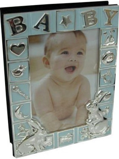 Άλμπουμ Φωτογραφιών Μεταλλικό Παιδικό INART Γαλάζιο Κωδικός: 3-30-056-1012