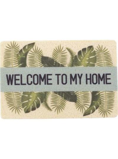 "INART Πατάκι Εισόδου ""Welcome To My Home"" Κωδικός: 6-40-151-0015 Διαστάσεις: 40Χ60 Εκατοστά"