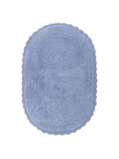 INART Πατάκι Μπάνιου Βαμβακερό Γαλάζιο Κωδικός: 6-40-803-0009 Διαστάσεις: 50x70 Εκατοστά
