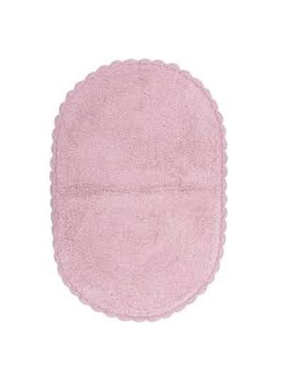 INART Πατάκι Μπάνιου Βαμβακερό Ροζ Κωδικός: 6-40-803-0008 Διαστάσεις: 50x70 Εκατοστά