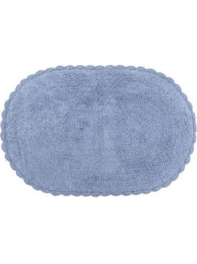 Πατάκι Μπάνιου Γαλάζιο Inart  Κωδικός: 6-40-803-0009 Διαστάσεις: 50x70 Εκατοστά