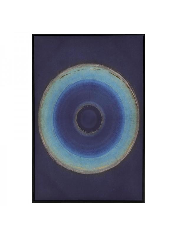 INART Πίνακας/Καμβάς Μπλε Κωδικός: 3-90-704-0030 Διαστάσεις: 60Χ90 Εκατοστά