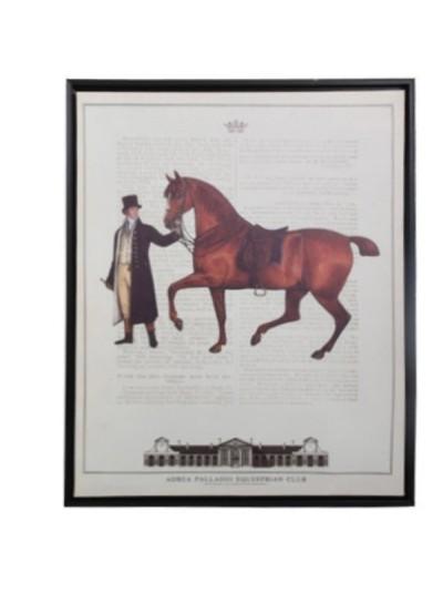 Πίνακας Brown Horse FYLLIANA Κωδικός: 373-92-035a Διαστάσεις: 40Χ50 Εκατοστά