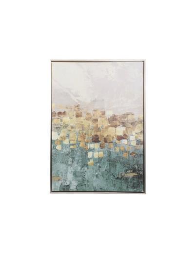 Πίνακας Blue Gold FYLLIANA Κωδικός: 373-92-045 Διαστάσεις: 50Χ70 Εκατοστά