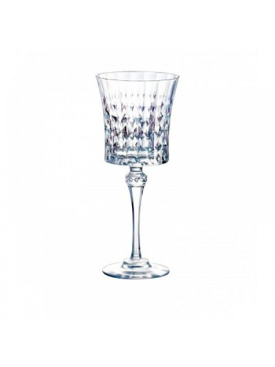 """Σετ 6 Τεμάχια Κρυστάλλινα Ποτήρια Κολωνάτα Κρασιού """"Lady Diamond"""" Eclat 19cl        01-1414702"""