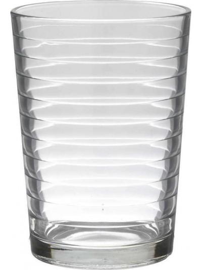 INART Γυάλινο Ποτήρι Νερού Σετ Των 6 - 500ml Κωδ: 6-60-921-0001