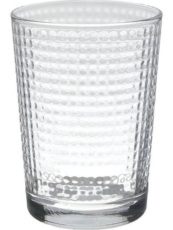 INART Γυάλινο Ποτήρι Νερού Σετ Των 6 - 500ml Κωδ: 6-60-921-0004