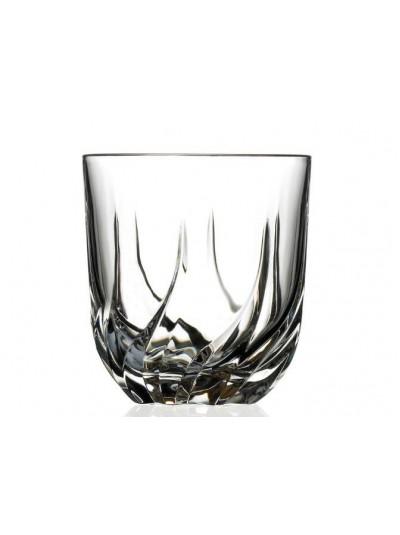 RCR Κρυστάλλινο Ποτήρι Ουίσκι Trix 400ml Σετ Των 6