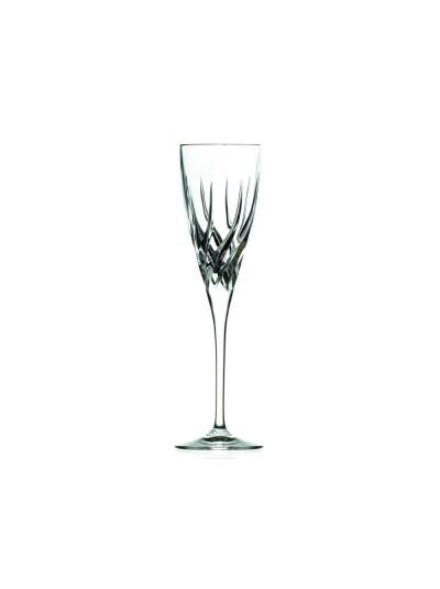 RCR Κρυστάλλινο Ποτήρι Σαμπάνιας Trix 120ml Σετ Των 6