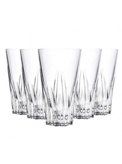 RCR Κρυστάλλινο Ποτήρι Νερού  Fluente 400ml Σετ Των 6