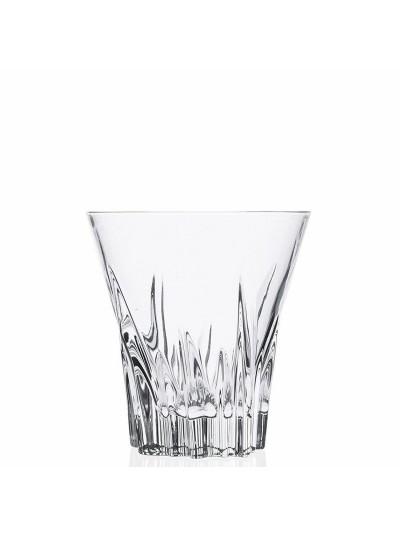 RCR Κρυστάλλινο Ποτήρι Ουίσκι Fluente 310ml Σετ Των 6
