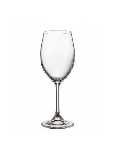 BOHEMIA CRYSTAL COLIBRI Κρυστάλλινο Ποτήρι Κρασιού 250ml