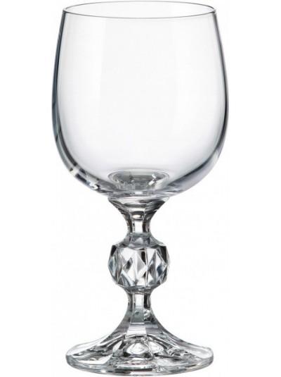 BOHEMIA CRYSTAL STERNA Κρυστάλλινο Ποτήρι Κρασιού 190ml